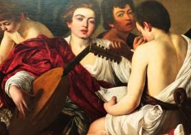 Caravaggio, The Musicians, 1595